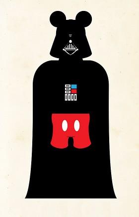 Disney se junta ao lado negro da força... 1