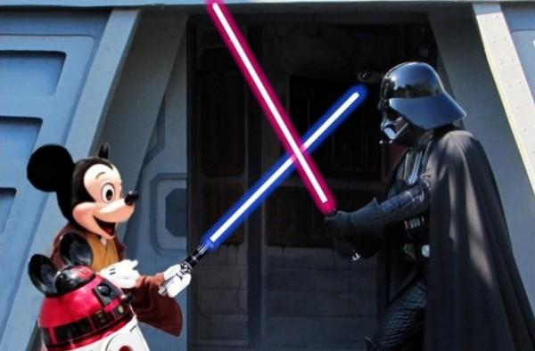 Disney se junta ao lado negro da força... 2