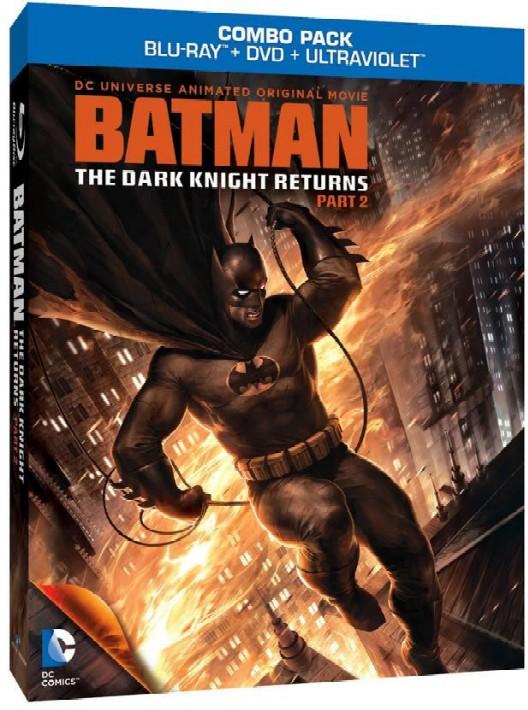 Capa da animação Batman - O Cavaleiro das Trevas - Parte 2