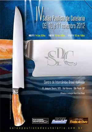 Salão Paulista da Cutelaria - A arte em facas conquistando o público