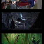 Como seria a Liga da Justiça em um filme da Pixar 1