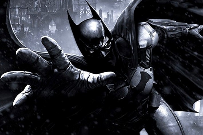 Vaza imagem do box de colecionador do game Batman: Arkham Origins