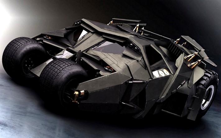 O Tumbler, Batmóvel original dos filmes de Christopher Nolan