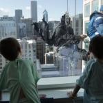 """""""Super-heróis"""" alegram o dia de crianças internadas em hospital 1"""