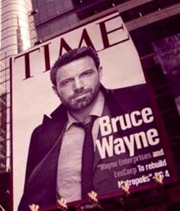 Bruce Wayne surge no set de Batman vs Superman 3