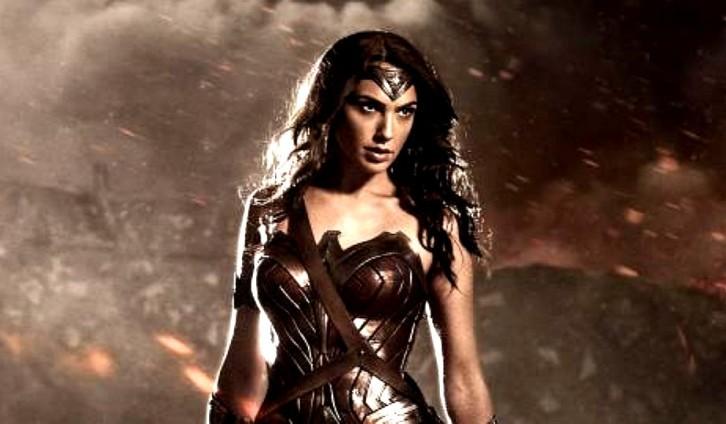 Nova arte promocional da Mulher Maravilha em Batman v Superman