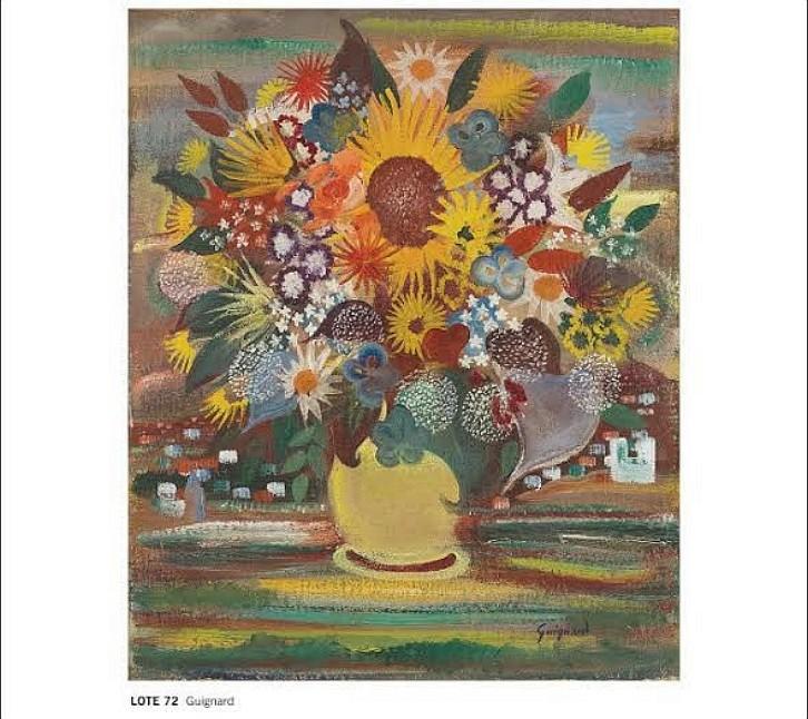 Vaso de flores é a obra mais cara de um brasileiro a ser leiloada 4