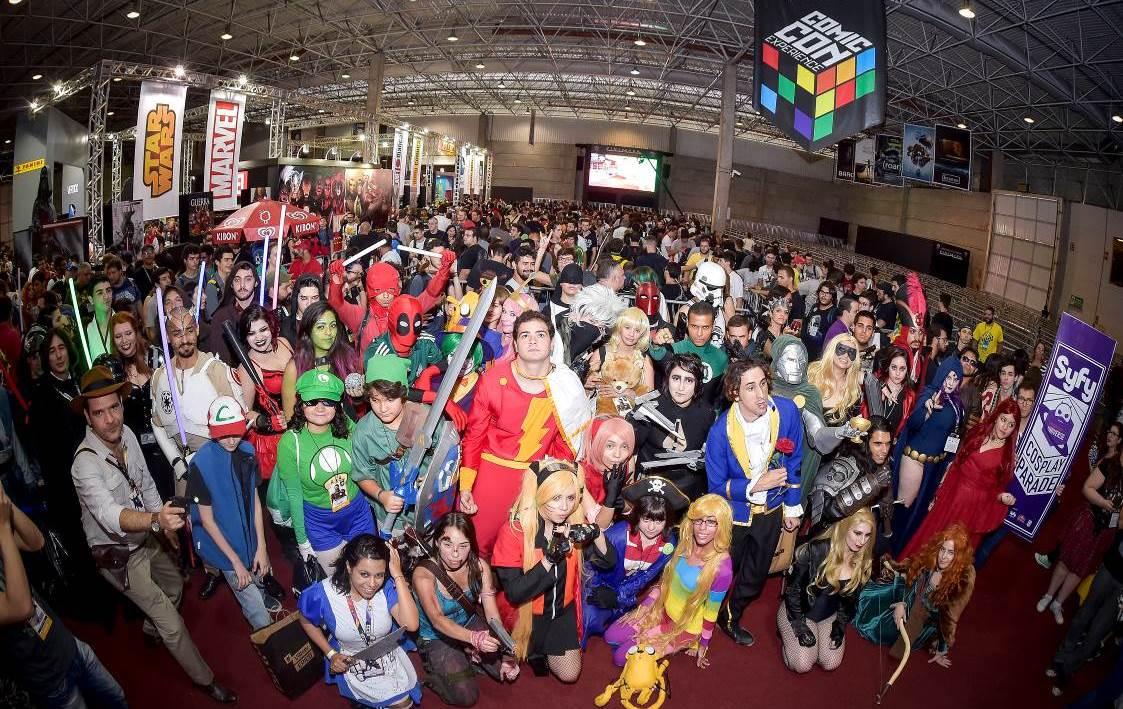 Começa hoje a terceira edição da Comic Con Experience 5