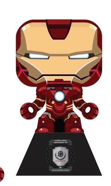 PaperFreak da semana - Homem de Ferro 1