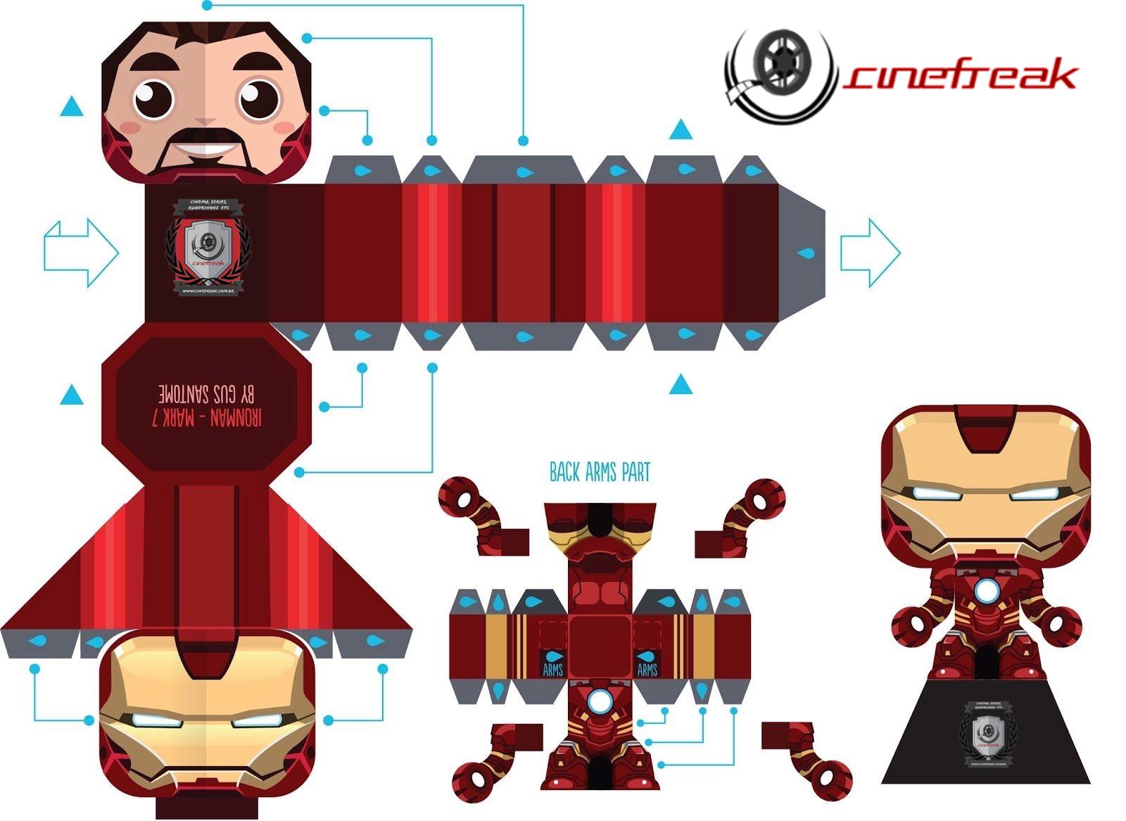PaperFreak da semana - Homem de Ferro 3