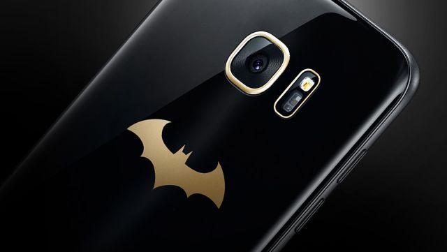 Samsung revela novo Galaxy S7 inspirado no Batman 7