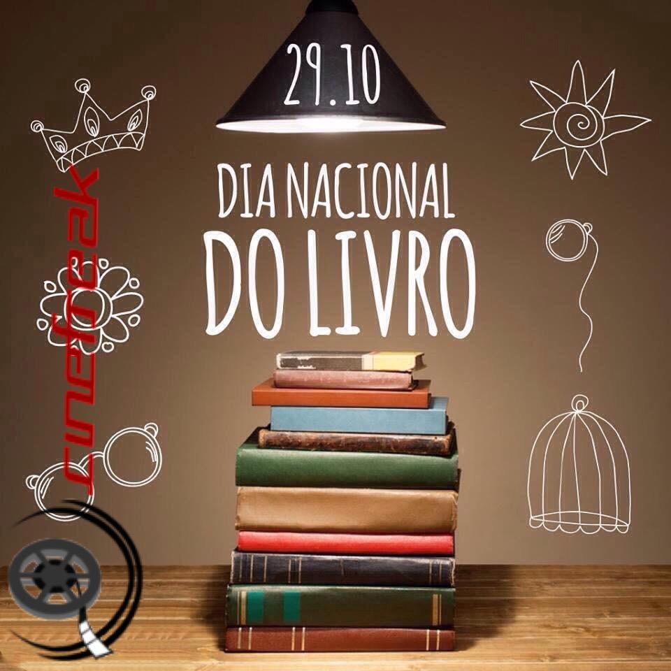 O Dia Nacional do Livro é comemorado em 29 de outubro 2