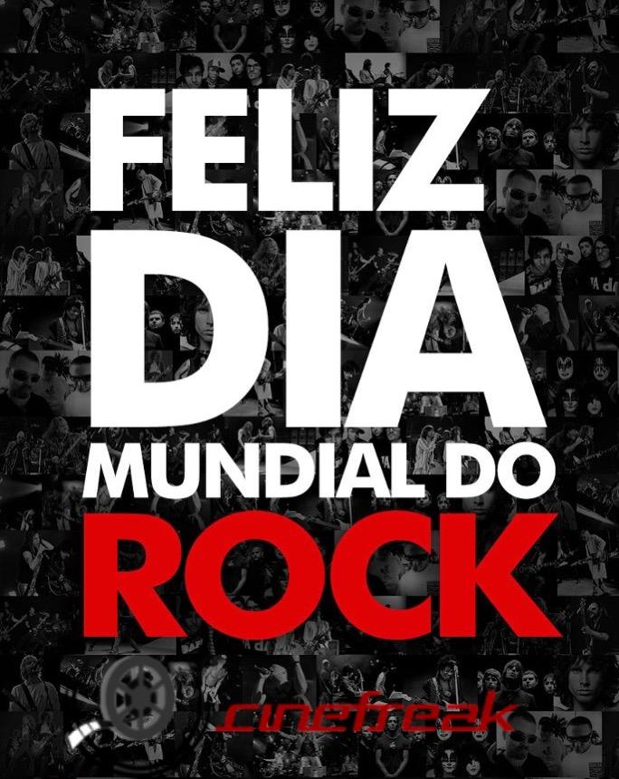 Hoje é o Dia Mundial do Rock 1