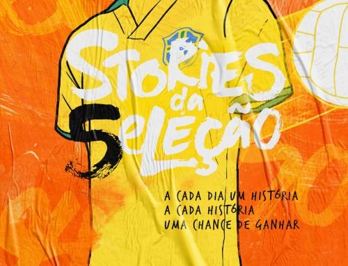 GOL lança game no Instagram contando as histórias da Seleção Brasileira