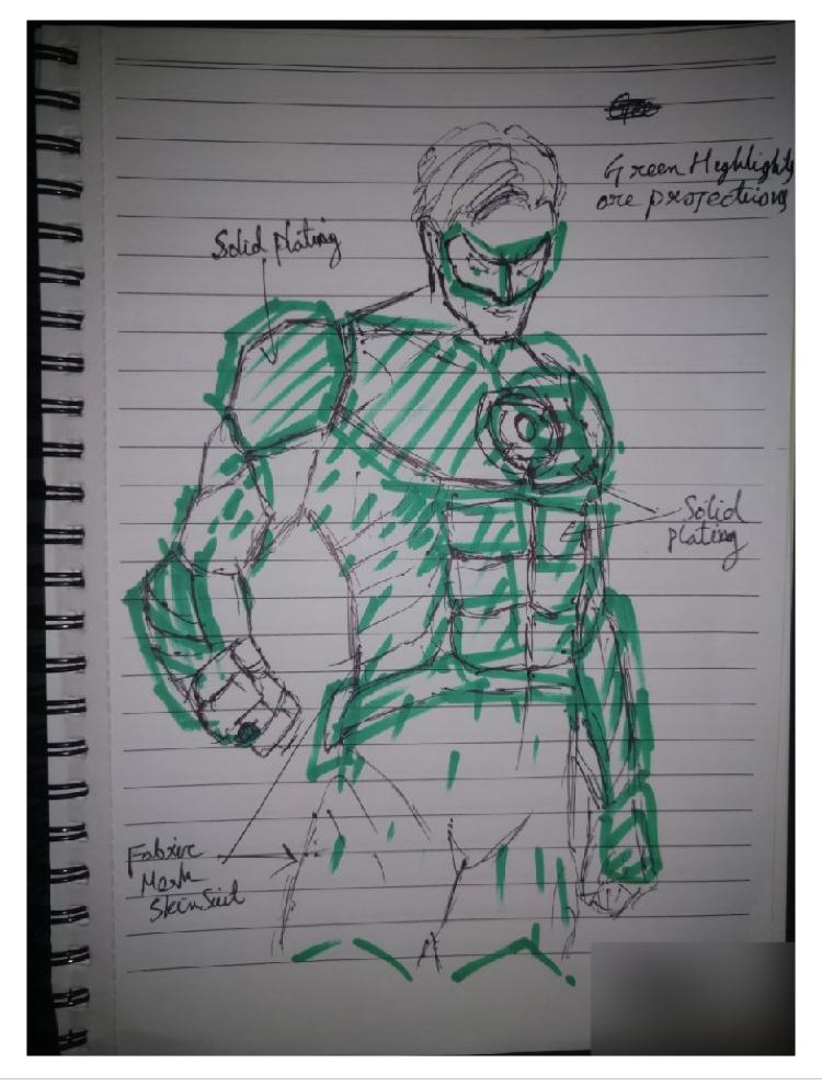 O uniforme do Lanterna Verde em 'Liga da Justiça' pode ter vazado, e é impressionante 8