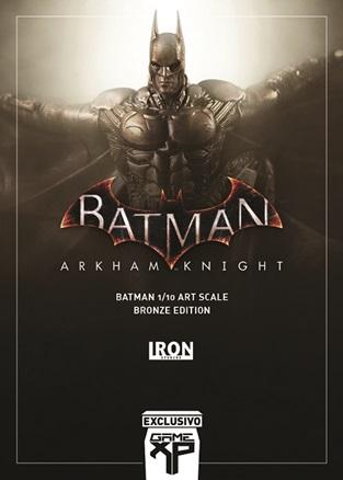 Iron Studios marca presença na Game XP com peças exclusivas de Batman Arkham Knight e Joker and Harley 7