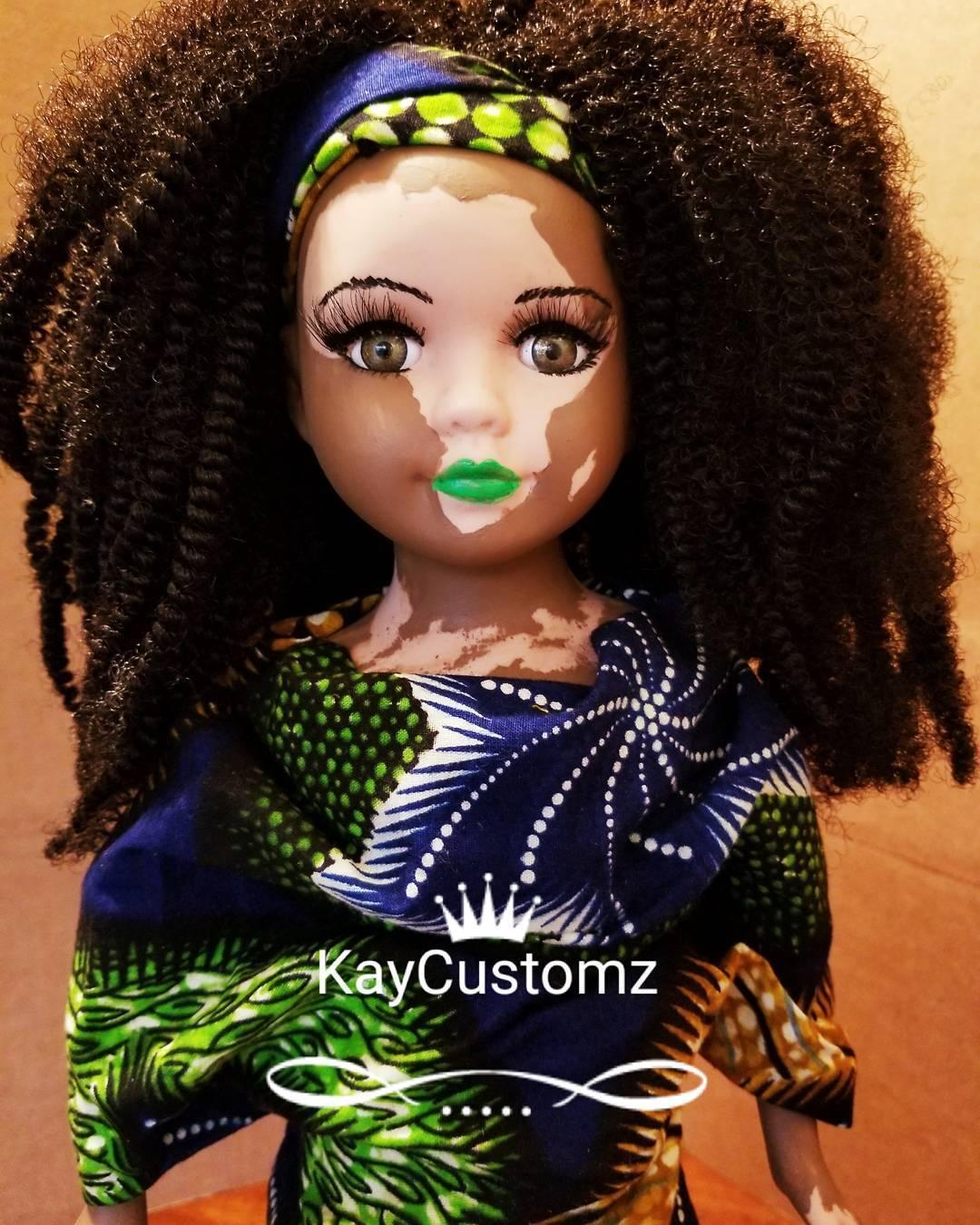 Artista americana cria bonecas com vitiligo para inclusão infantil 18
