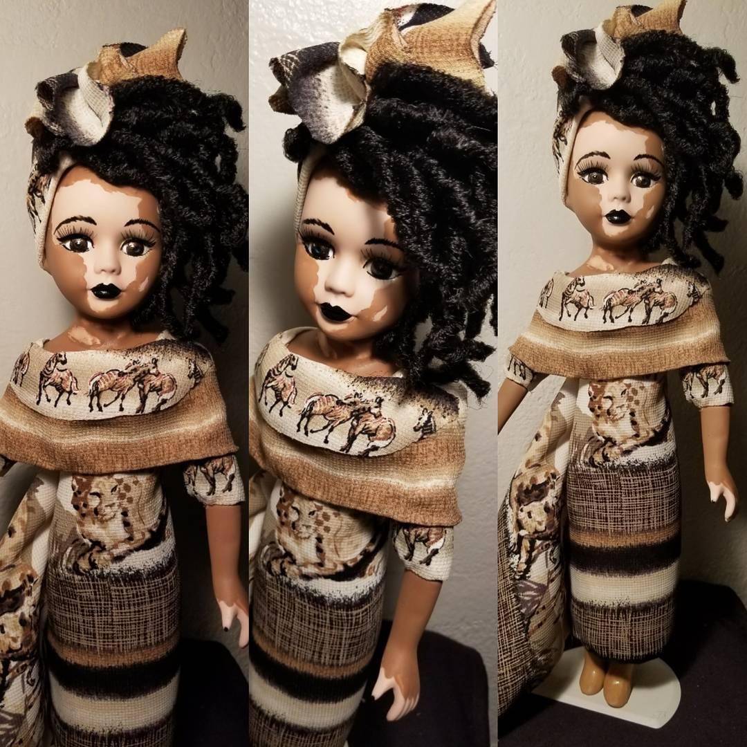 Artista americana cria bonecas com vitiligo para inclusão infantil 14