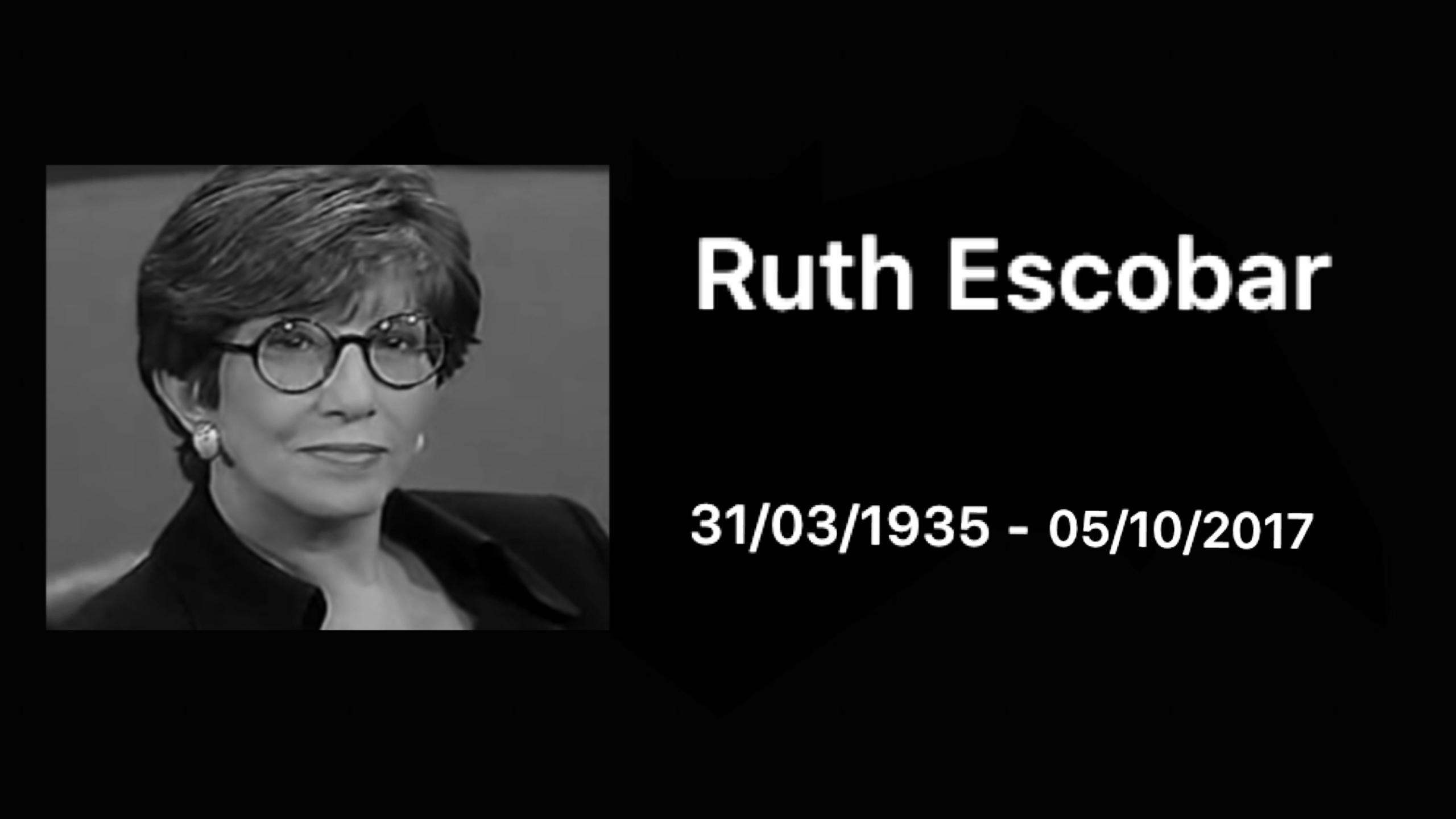 Atriz Ruth Escobar morre aos 81 anos 3