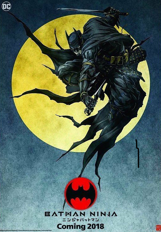 Animação Batman Ninja será lançada na NYCC 5