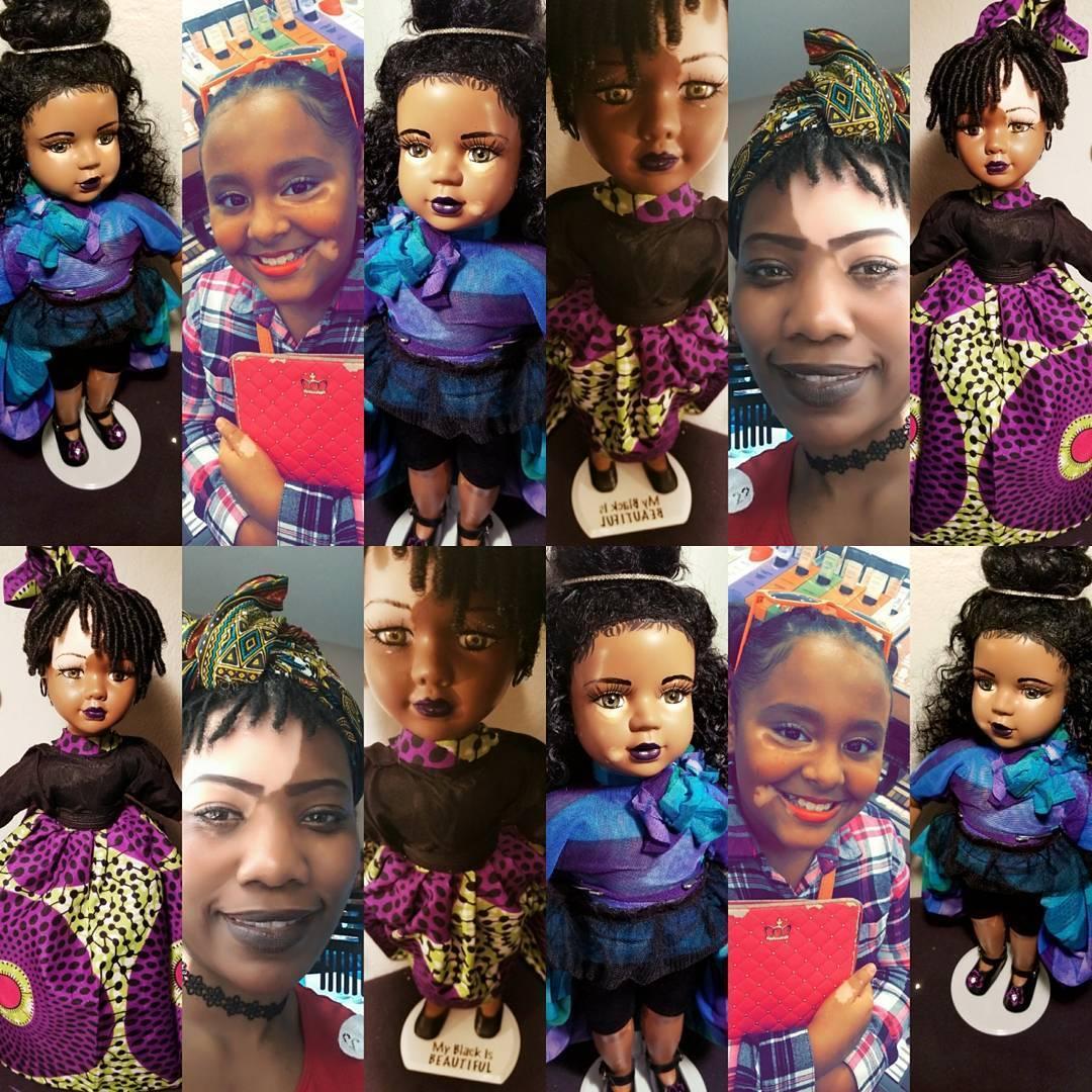 Artista americana cria bonecas com vitiligo para inclusão infantil 15