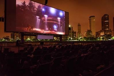 Shell Open Air chega a SP com o maior cinema ao ar livre do mundo 6