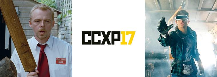 Simon Pegg e Tye Sheridan estarão na CCXP 2017 3