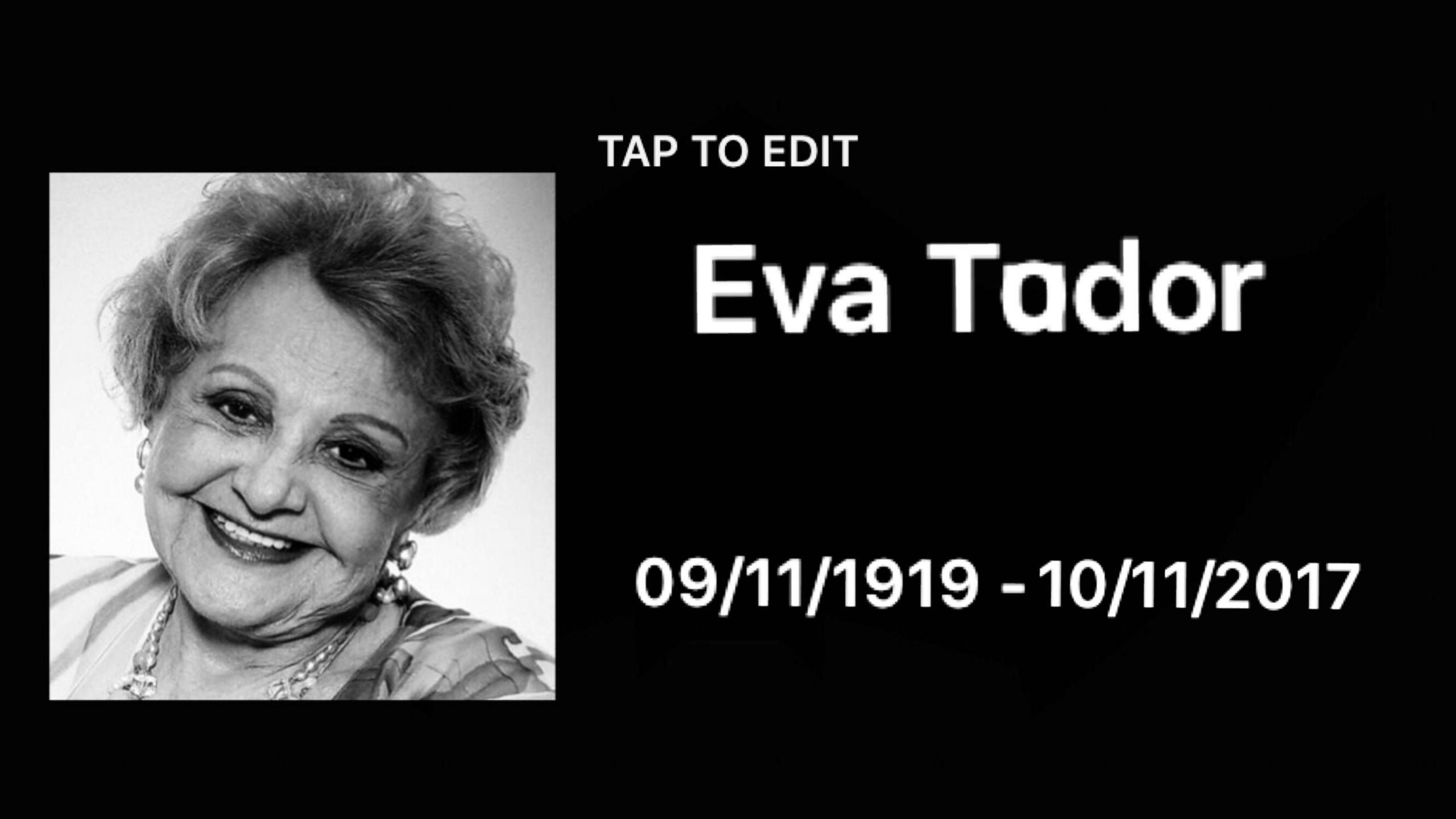 Atriz Eva Todor morre aos 98 anos 3