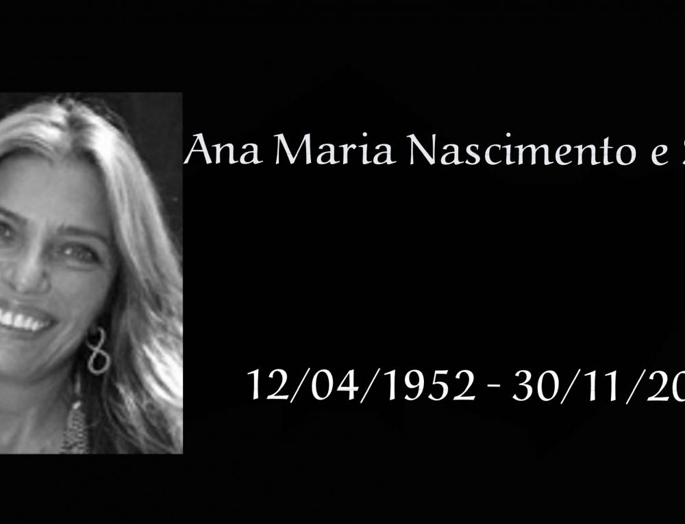 Atriz Ana Maria Nascimento e Silva morreu aos 60 anos