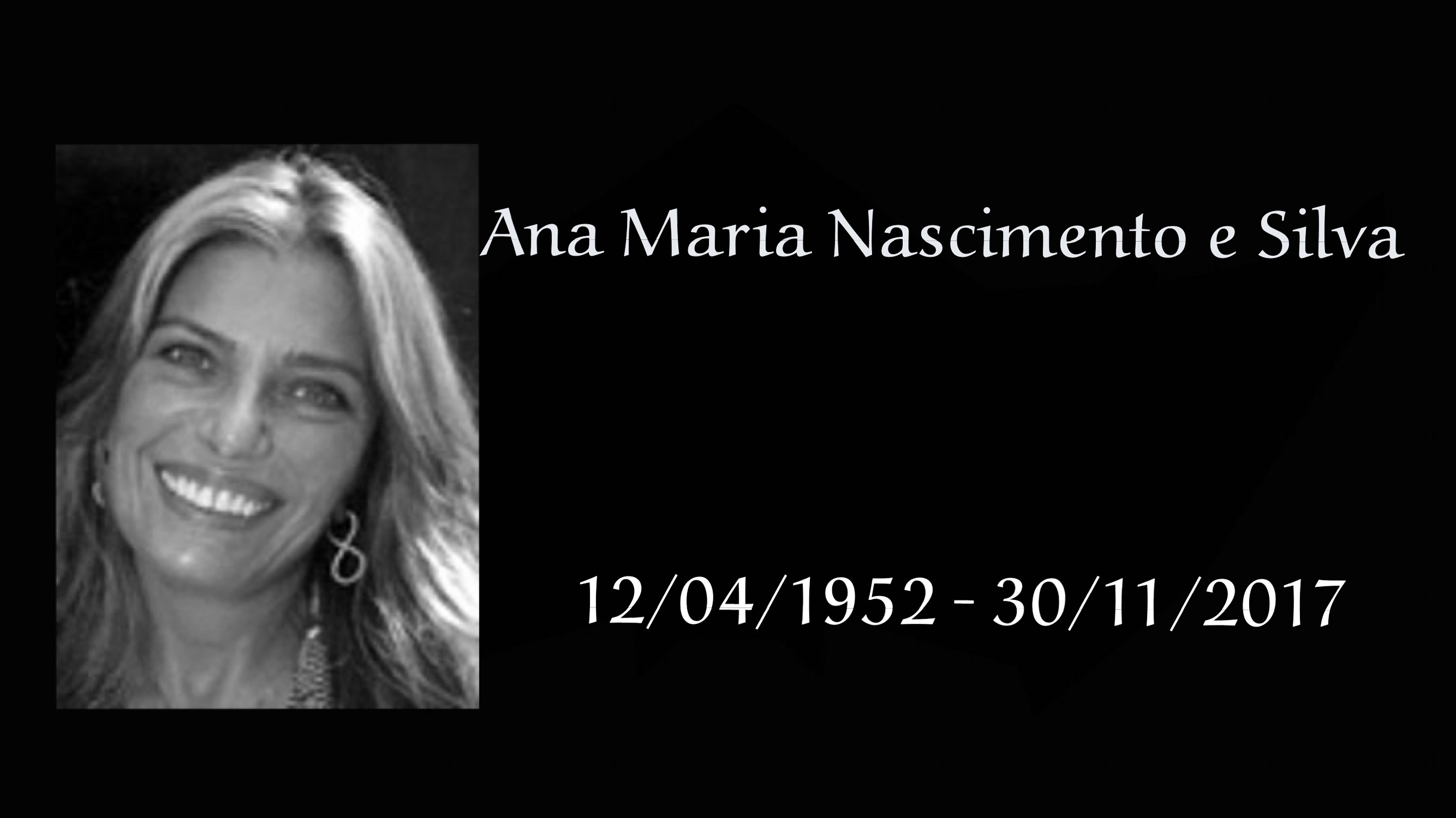 Atriz Ana Maria Nascimento e Silva morreu aos 60 anos 3