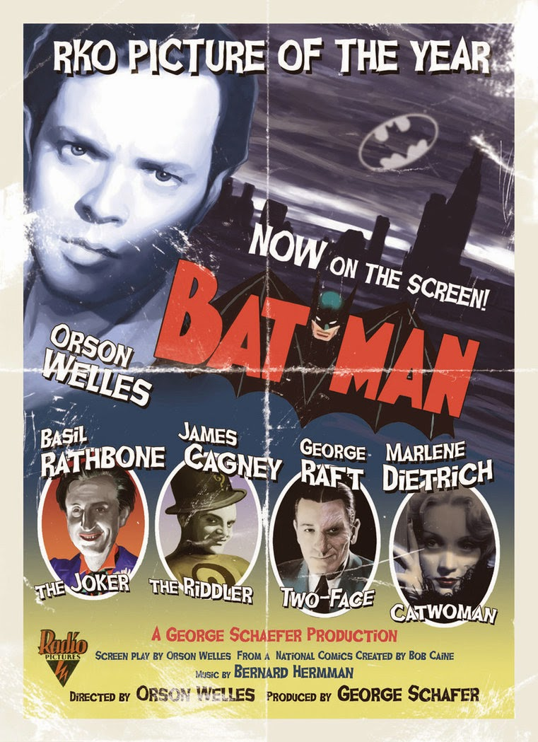 O filme do Batman de Orson Welles 1