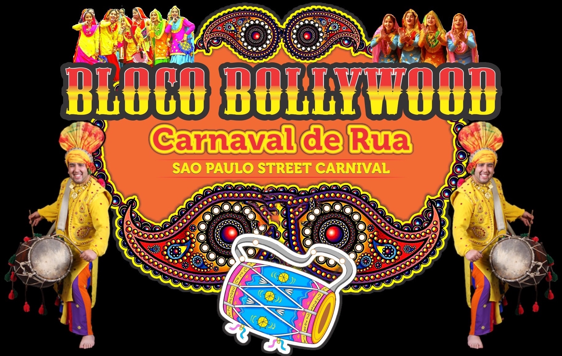 Bloco Bollywood 2019 celebra as mulheres no cinema indiano 3