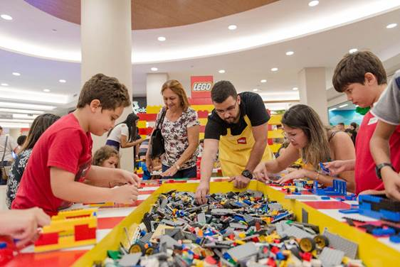 Casa Lego é a nova atração do Golden Square Shopping 9