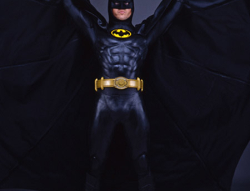 Uniforme original do Batman de 1989 vai a leilão
