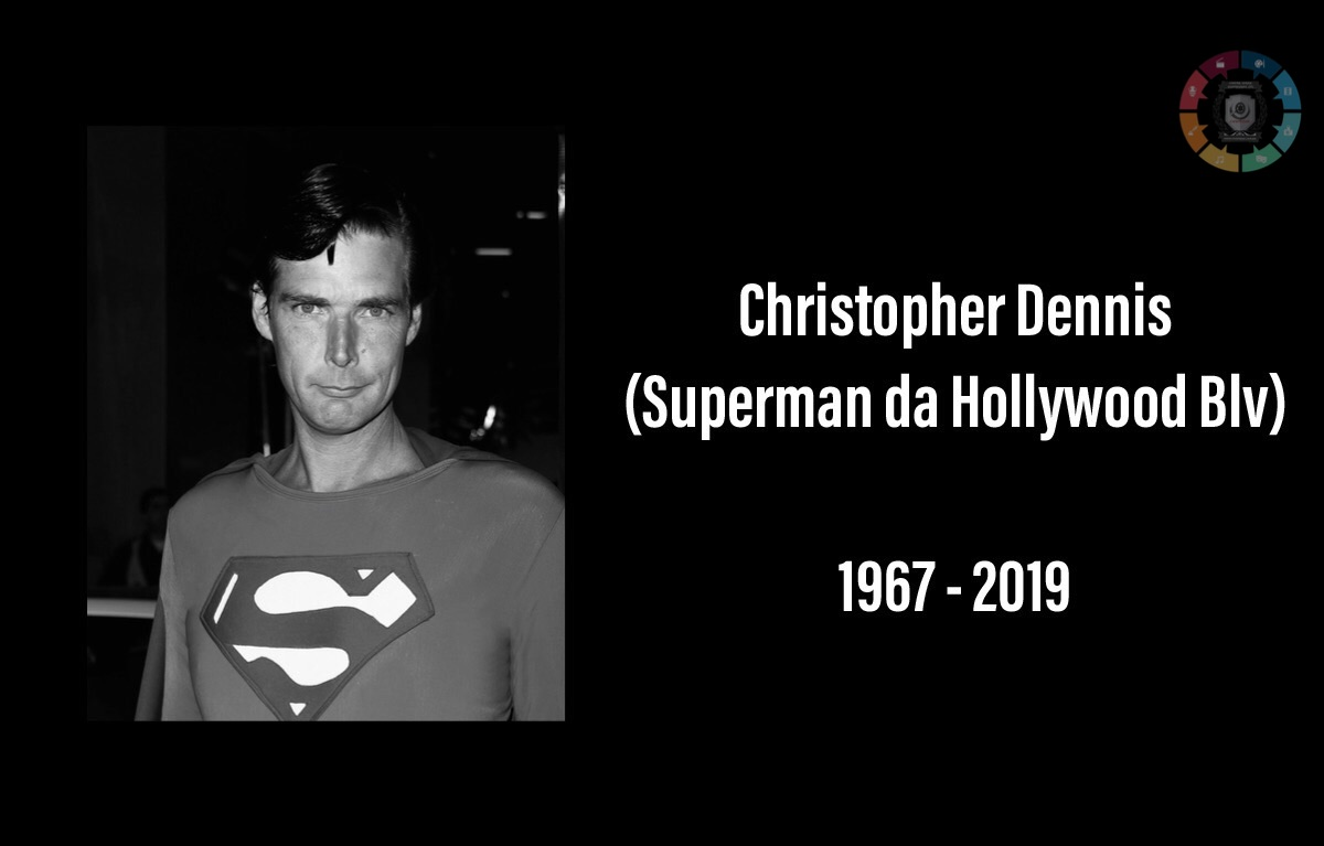 Christopher Dennis, o Superman das ruas de Hollywood, morre aos 52 anos 1