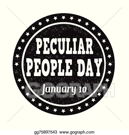 Hoje se comemora o Dia das Pessoas Peculiares (Peculiar People Day) 8