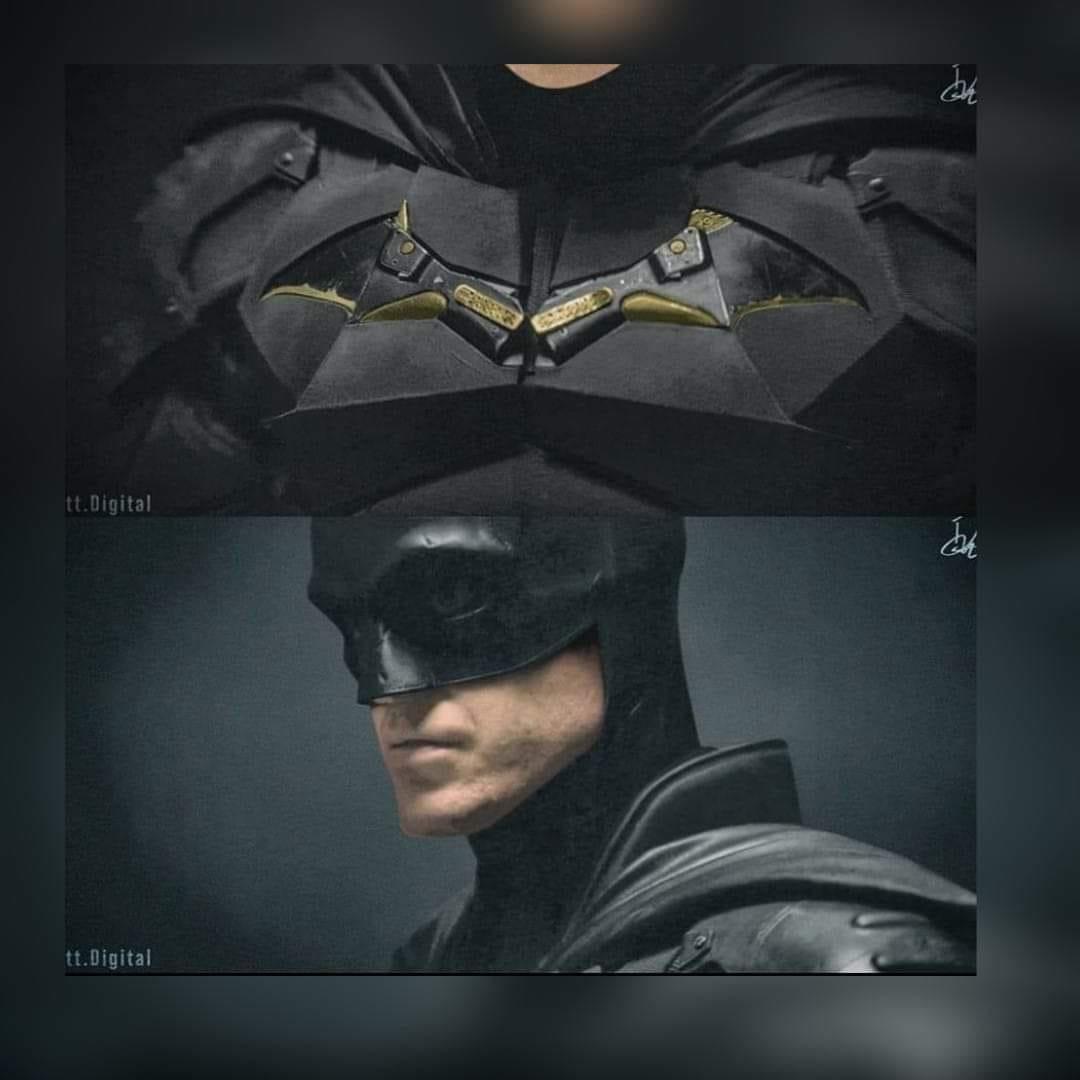 Divulgado uma prévia do visual do novo traje do Batman 5