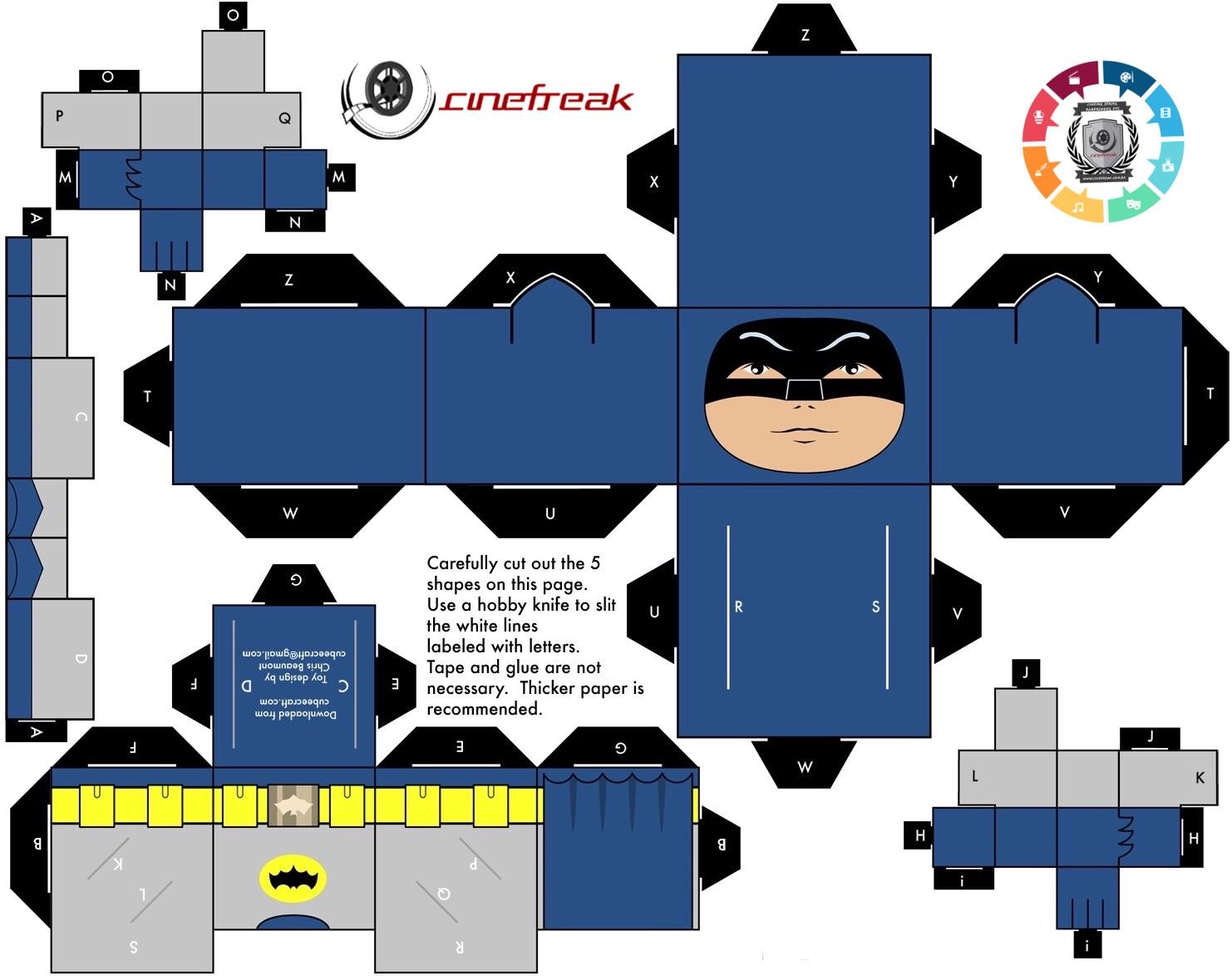 PaperFreak da semana - Batman de Adam West 3