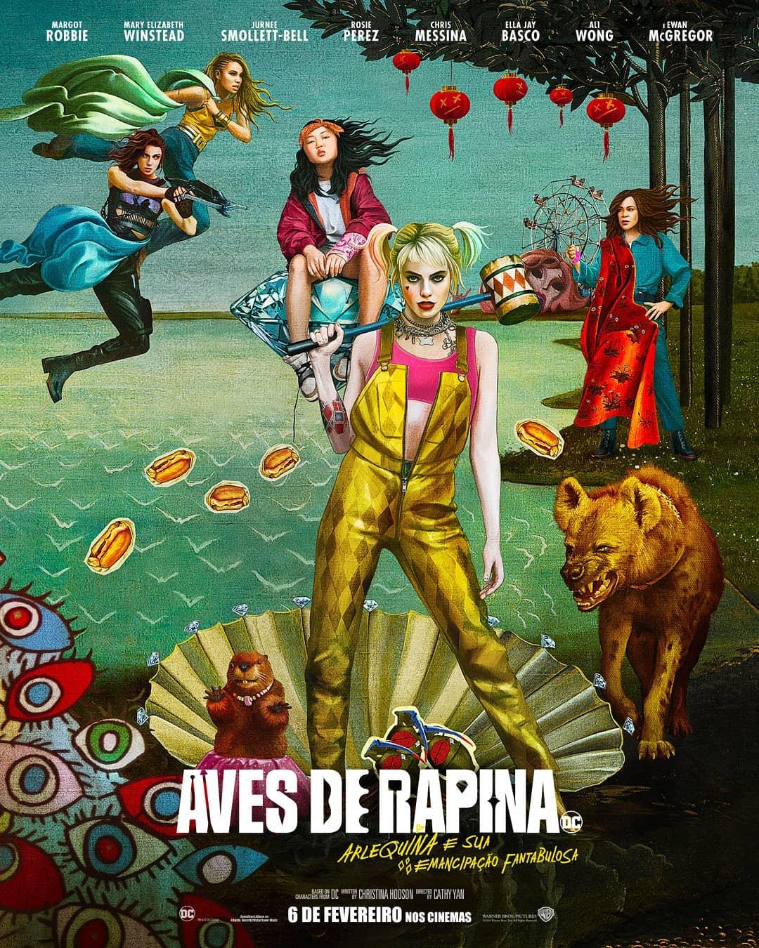 'Aves de Rapina' estreia nos cinemas 6
