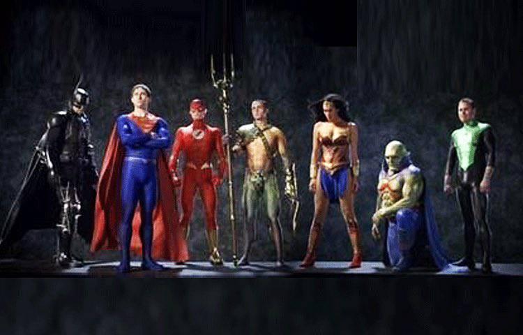 "Máscara do Batman de ""Liga da Justiça: Mortal"" é divulgada 2"