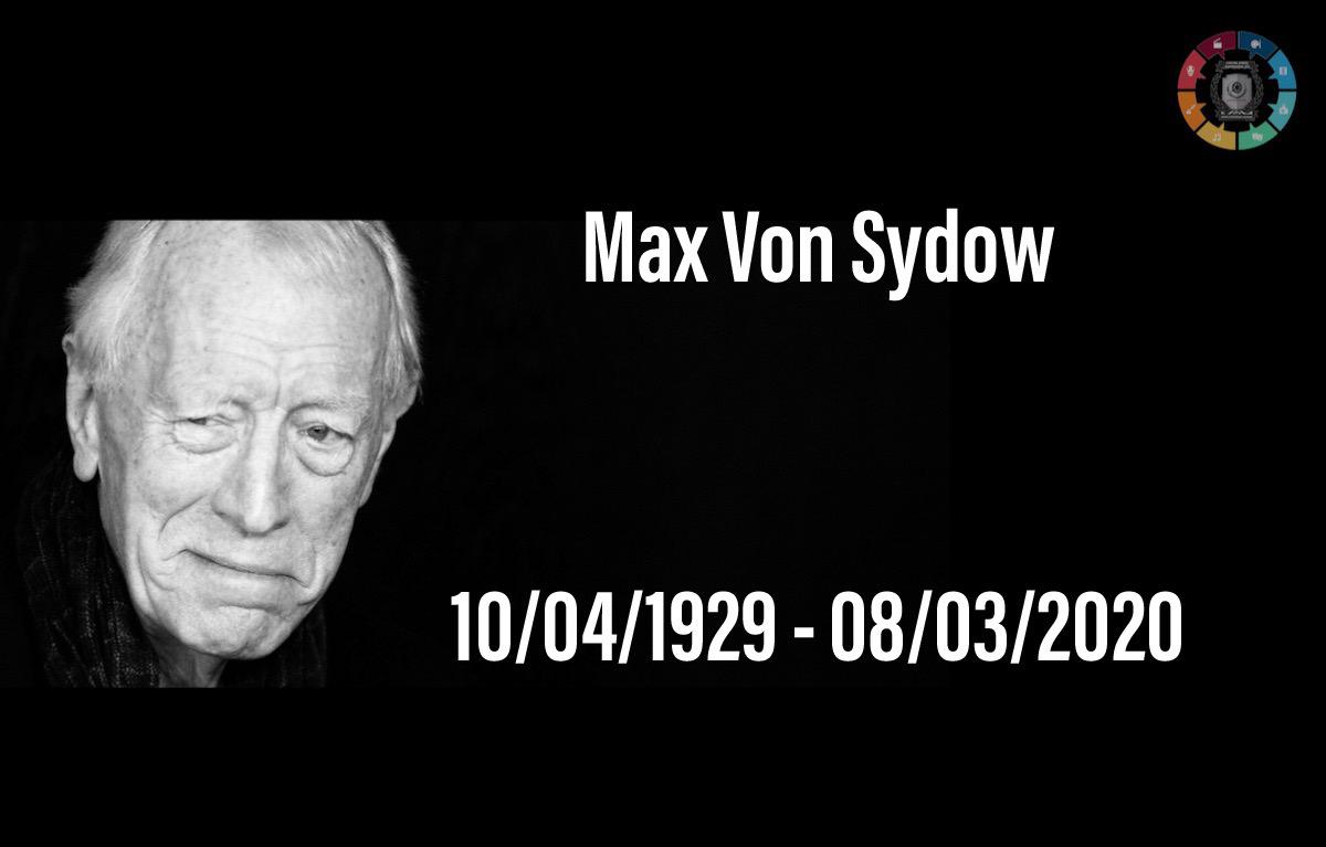 Ator Max Von Sydow morre aos 90 anos 1