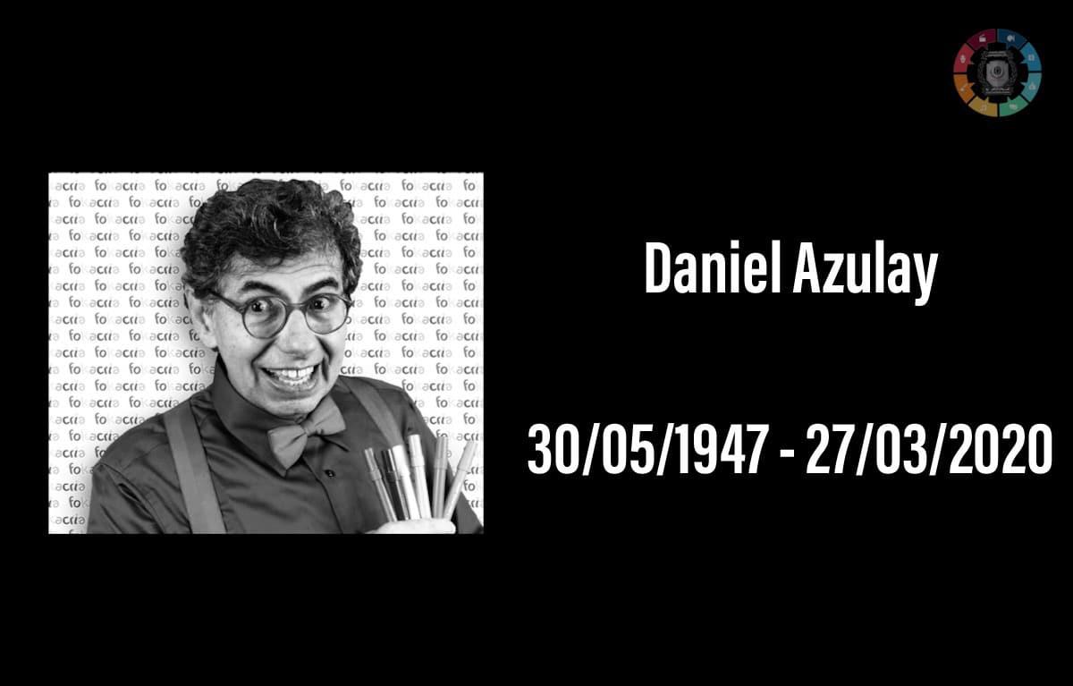 Morre o desenhista Daniel Azulay, vítima de coronavírus 1