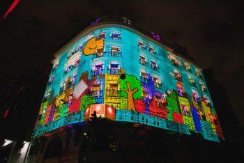 São Paulo destina 10 milhões para espetáculos nas janelas de prédios 4