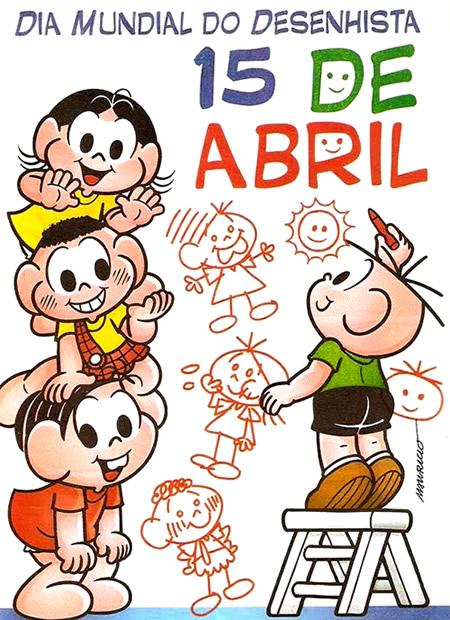 O Dia Mundial do Desenhista é comemorado em 15 de abril 6