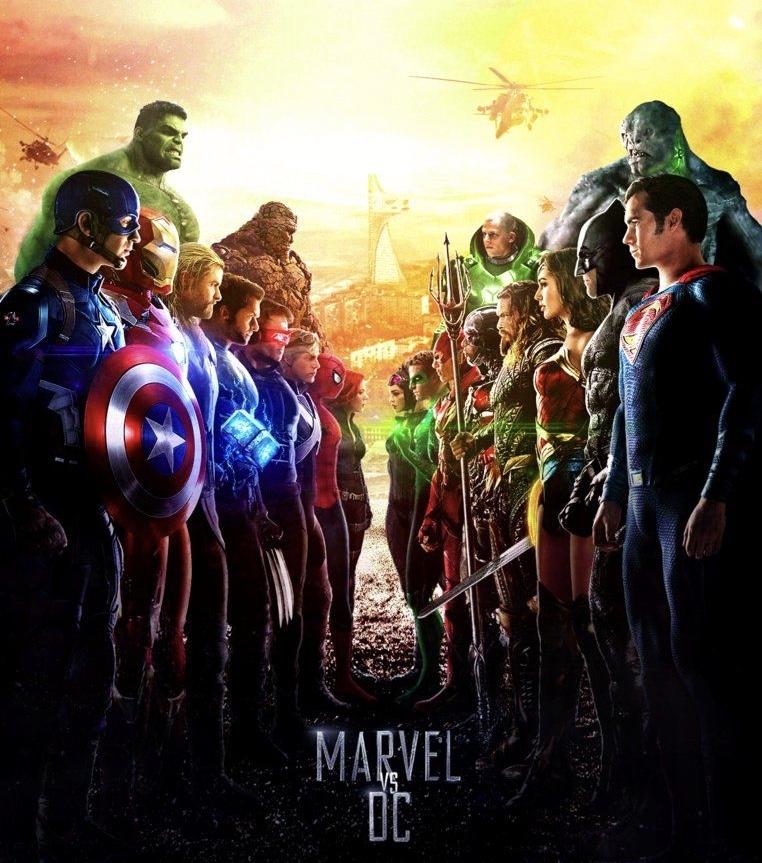 Novas datas de lançamento dos filmes DC/Marvel 7