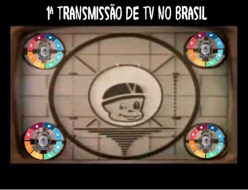 A primeira transmissão de TV no Brasil completa 70 anos
