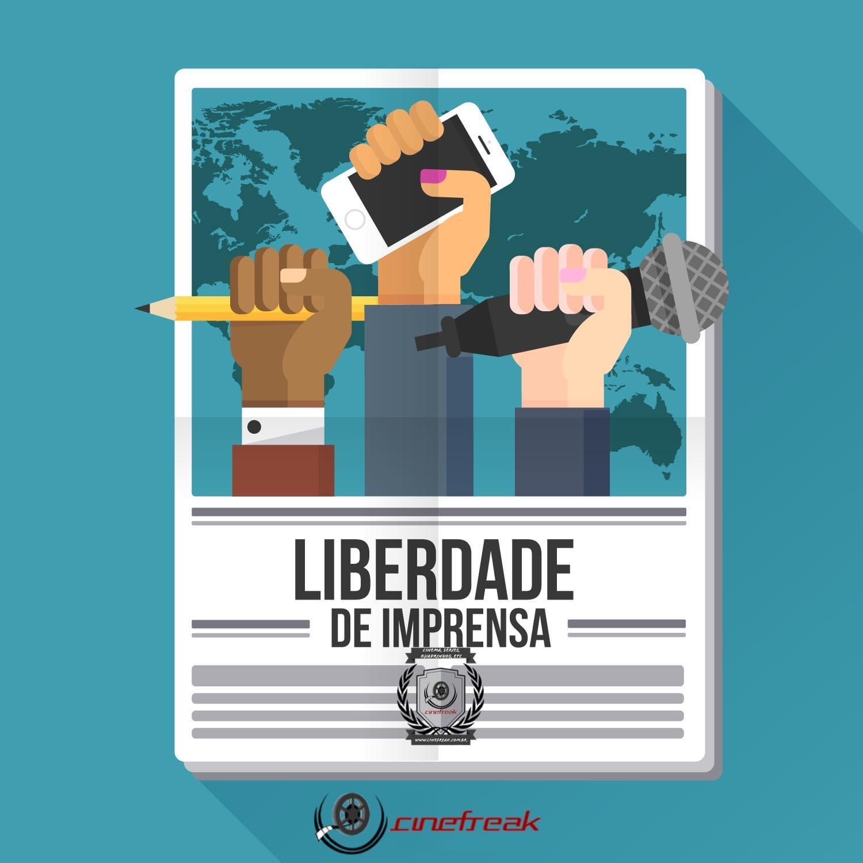 O Dia Internacional da Liberdade de Imprensa é comemorado no dia 03 de maio 3