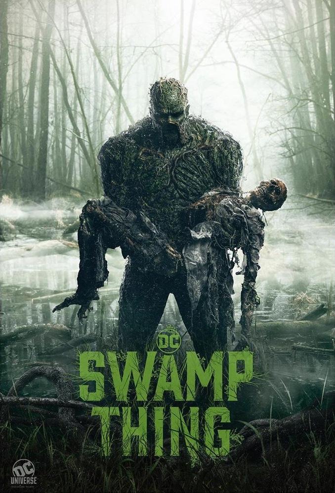 """Canal CW irá exibir a série """"Swamp Thing"""" 3"""