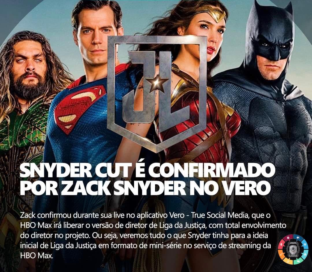 """Como aconteceu a aprovação do """"Snyder Cut' de Liga da Justiça 1"""