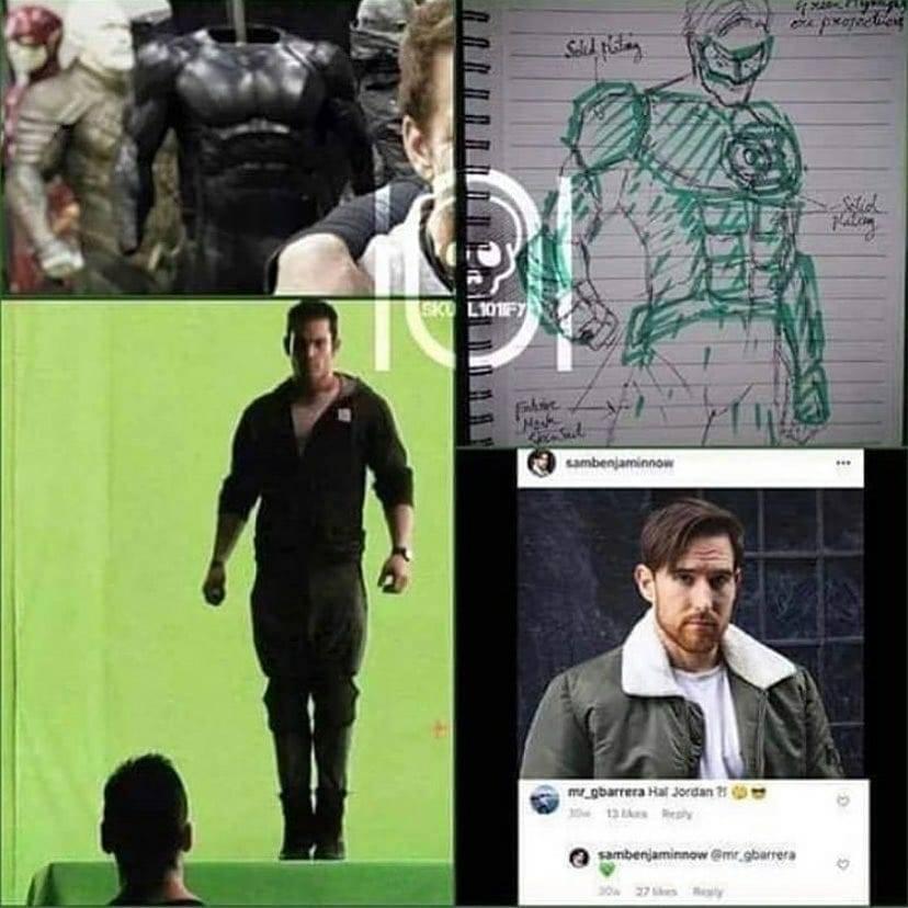 Mais detalhes do Lanterna Verde do SnyderCut 13